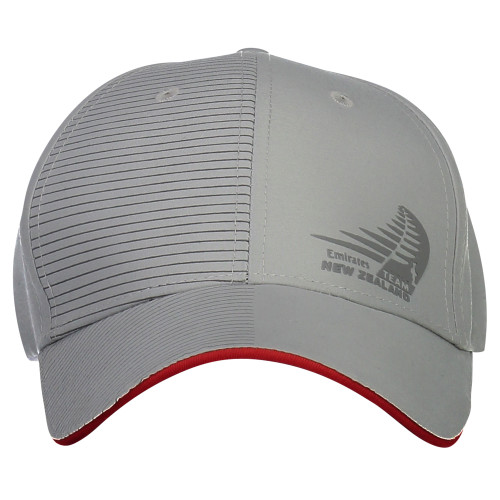 36th America's Cup Emirates Team New Zealand Sailing Cap — Silver