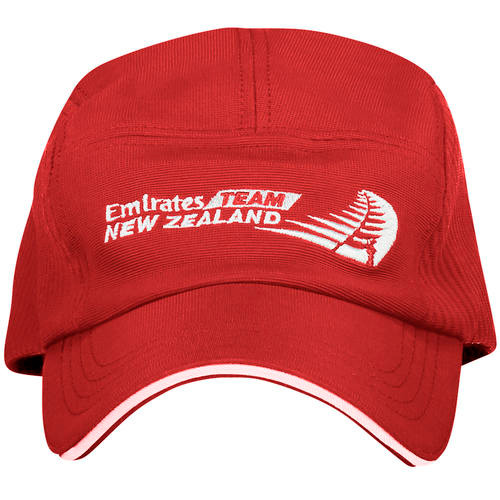 36th America's Cup Emirates Team New Zealand Sports Cap — Red
