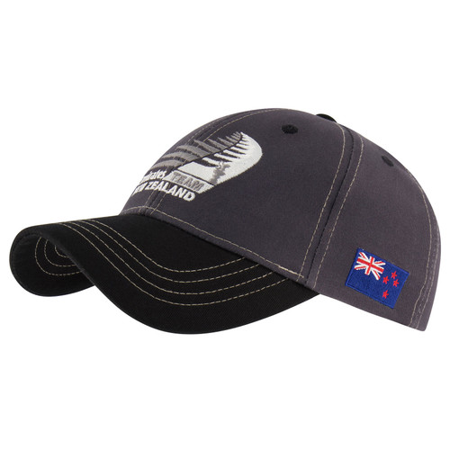 36th America's Cup Emirates Team New Zealand Heritage Cap — Charcoal