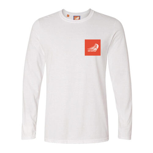 "36th America's Cup ""Since 1851"" Long Sleeve T-Shirt — White"