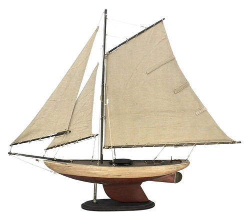 Bermuda Sloop Wooden Model Yacht 30""