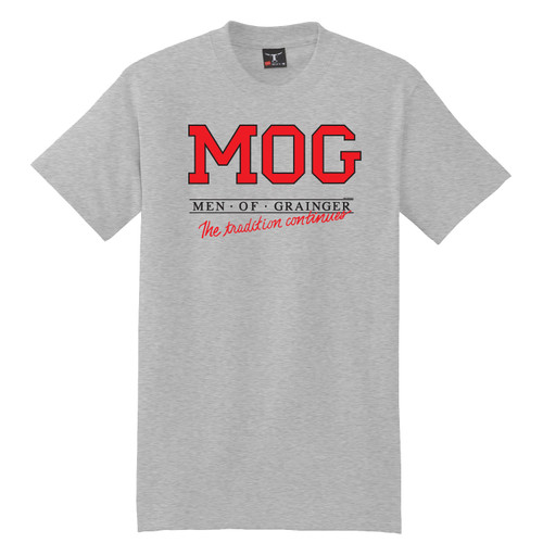 Vintage Men of Grainger T-Shirt by Rita Hoshino (Gray)