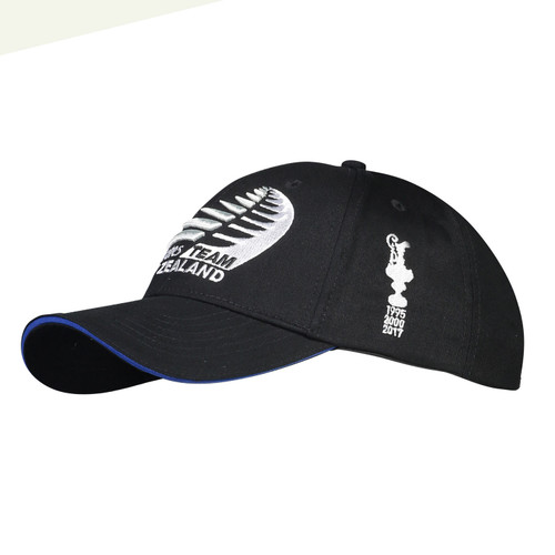 36th America's Cup Emirates Team New Zealand Defender Cap — Black