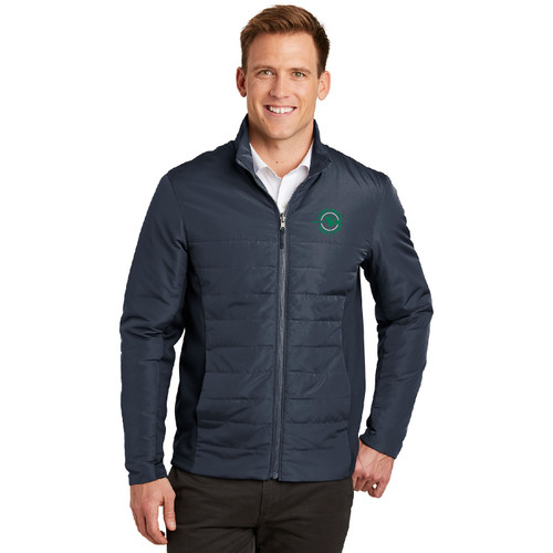 South Shore Yacht Club Men's Insulated Jacket (Customizable)