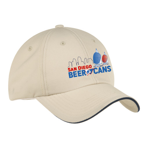 San Diego Beer Cans Wicking Sailing Cap (Customizable)