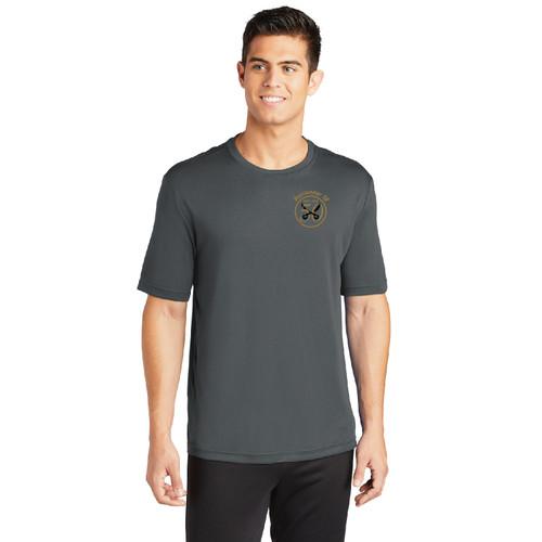 Buccaneer 50th Anniversary Short Sleeve Wicking Shirt (Gray)
