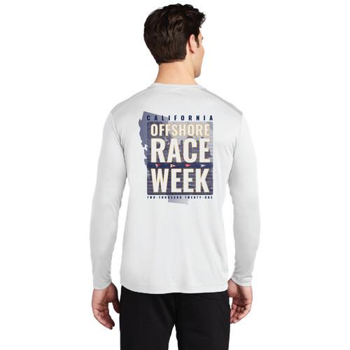 California Offshore Race Week 2021 UPF 50+ Wicking Shirt (Customizable)