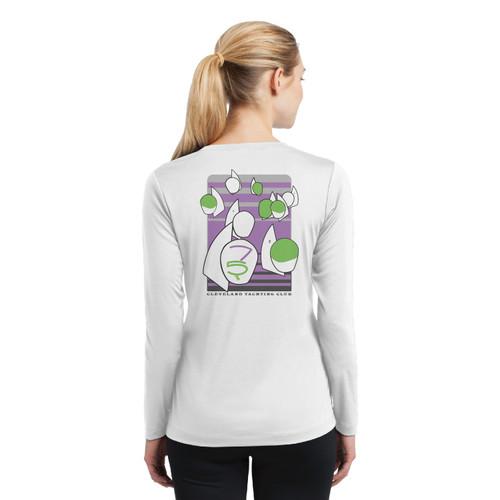 Thistle Nationals 2021 Women's Long Sleeve Wicking Shirt (Customizable)