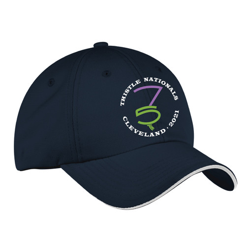 Thistle Nationals 2021 Wicking Sailing Cap (Customizable)