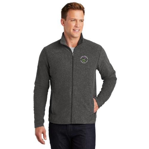Thistle Nationals 2021 Men's Microfleece Full-Zip Jacket (Customizable)