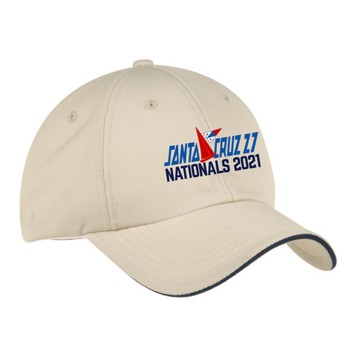 Santa Cruz 27 Nationals 2021 Wicking Sailing Cap (Customizable)