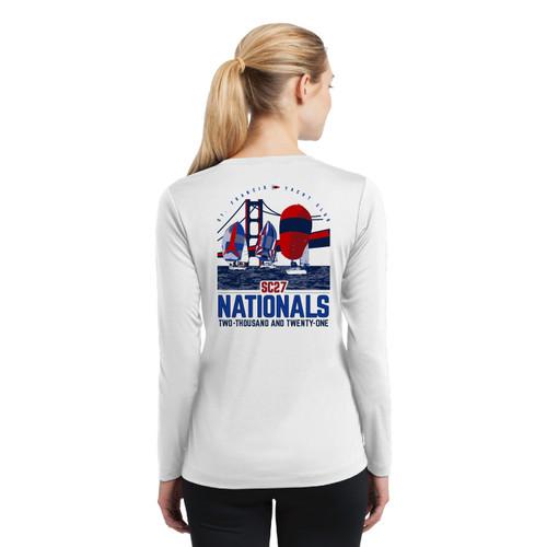 Santa Cruz 27 Nationals 2021 Women's Long Sleeve Wicking Shirt (Customizable)