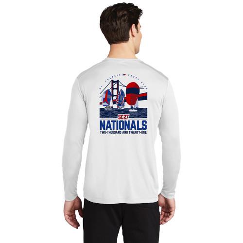 Santa Cruz 27 Nationals 2021 UPF 50+ Wicking Shirt (Customizable)