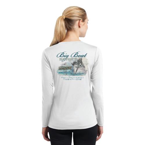 Rolex Big Boat Series 2021 Women's Long Sleeve Wicking Shirt (Customizable)