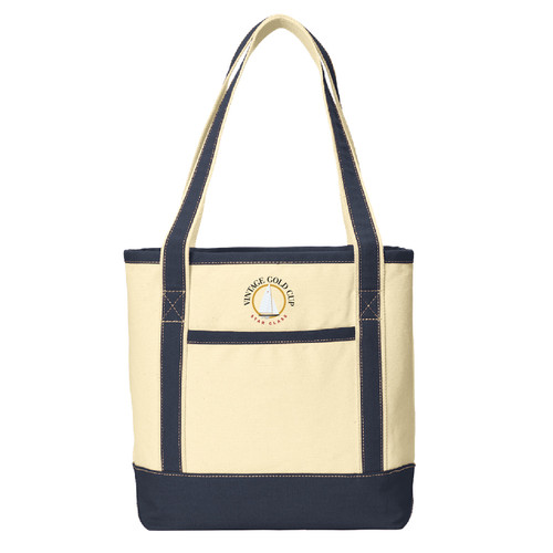 Vintage Gold Cup 2021 Boat Tote (Customizable)