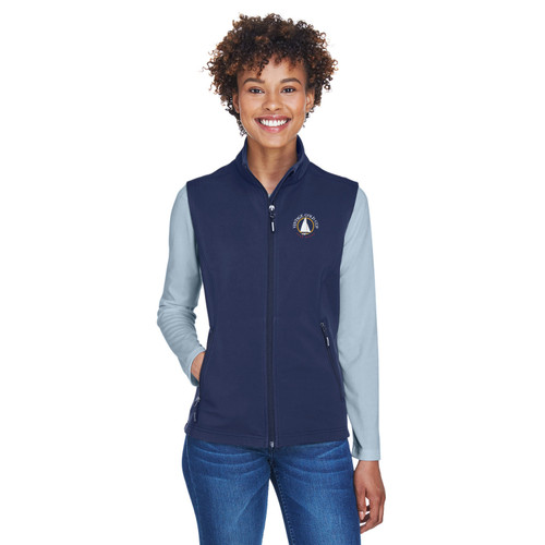 Vintage Gold Cup 2021 Women's Soft Shell Vest Navy (Customizable)