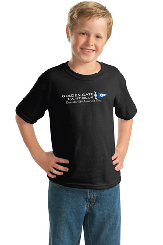 GGYC Defender 34th America's Cup 2013 34th Defender Logo Youth T-Shirt