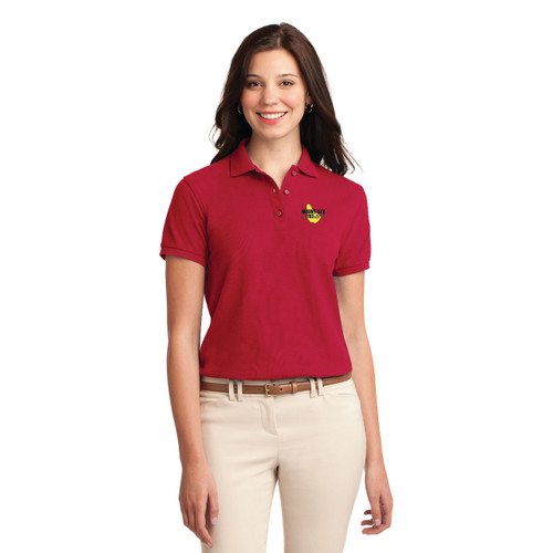 Mount Gay® Rum Women's Silk Touch Cotton Polo by Port Authority®