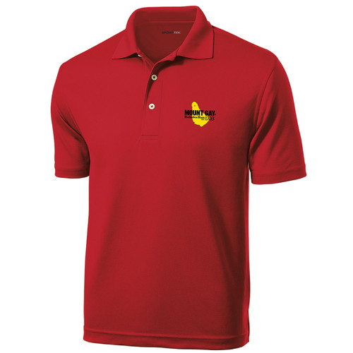 Mount Gay® Rum Men's Moisture Wicking Polo (Customizable)