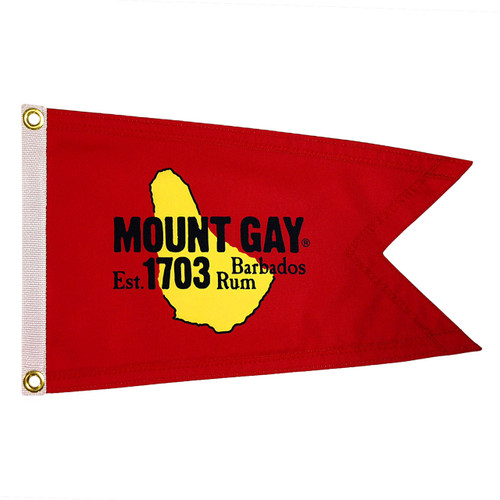CLEARANCE! Mount Gay® Rum Burgee