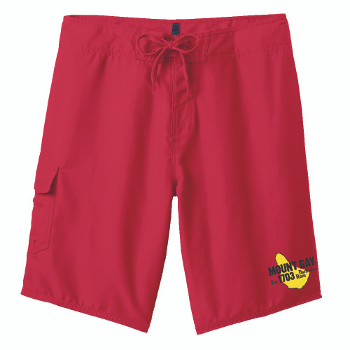 Mount Gay® Rum Sailing Board Shorts (Red)