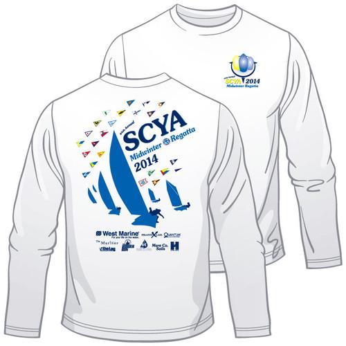 SCYA Midwinter Regatta 2014 Wicking Shirt