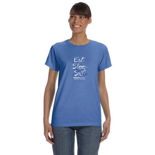 Summer Sailstice Eat Sleep Sail Women's T-Shirt