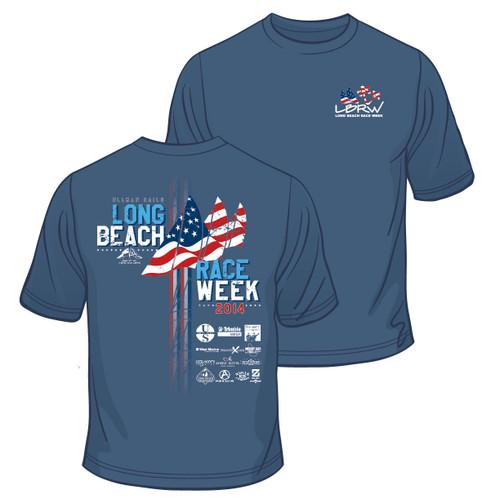 Long Beach Race Week 2014 Cotton T-Shirt