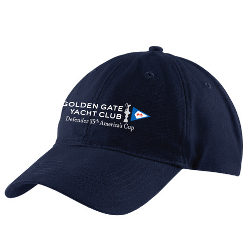 "35th America's Cup 2017 Golden Gate Yacht Club ""35th Defender"" Brushed Twill Low Profile Cap"