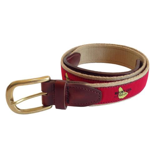 Mount Gay®Rum Premium Leather Belt