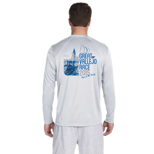 Great Vallejo Race 2015 Men's Wicking Shirt (Customizable)