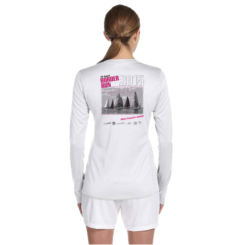 Border Run 2015 Women's Wicking Shirt (Customizable)