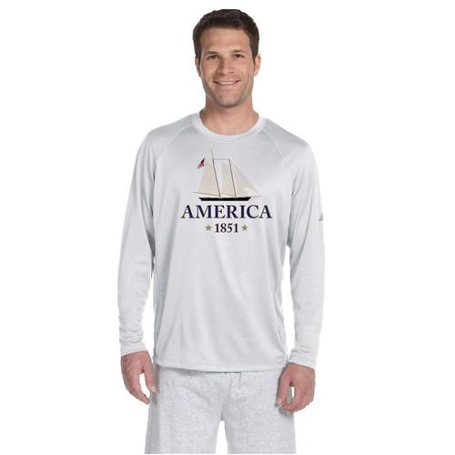 Yacht America USA-1 Men's Wicking Shirt