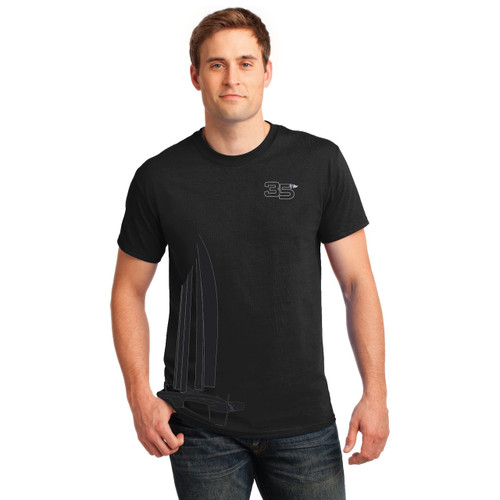 "35th America's Cup 2017 GGYC ""Foiling Cat"" Men's T-Shirt"