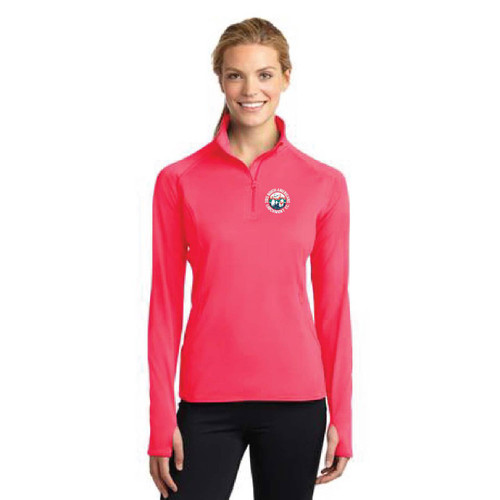 Viper 640 North American Championship 2015 Women's Sport-Wick® Stretch 1/4 Zip Wicking Pullover