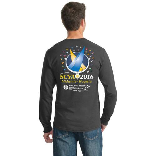 SCYA Midwinter Regatta 2016 50/50 Long Sleeve Shirt