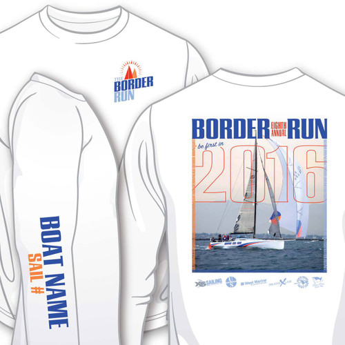 Border Run 2016 Women's Wicking Shirt (Customizable)