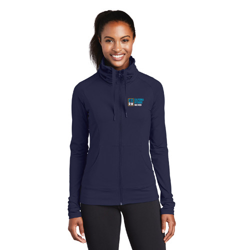 California Offshore Race Week 2021 Women's Sport-Wick® Stretch 1/4 Zip Wicking Pullover