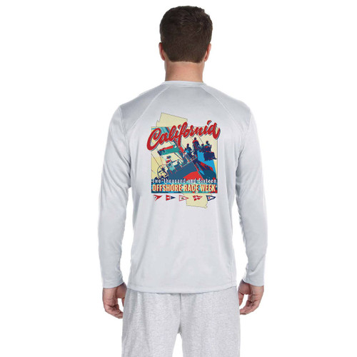 California Offshore Race Week 2016 Men's Wicking Shirt (Customizable)