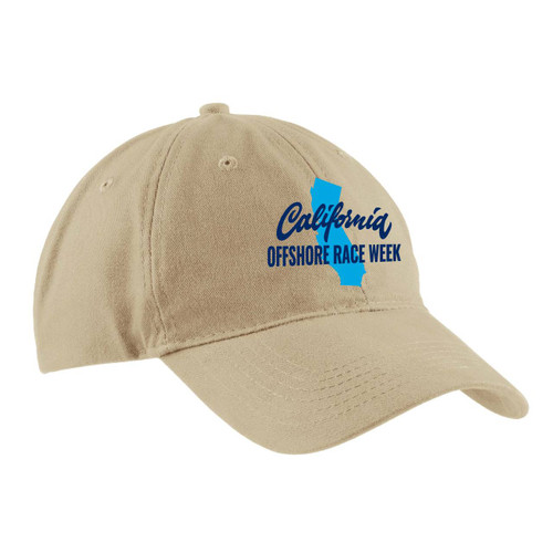 California Offshore Race Week Cotton Sailing Cap