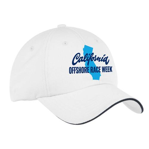 "California Offshore Race Week ""Classic"" Wicking Sailing Cap"