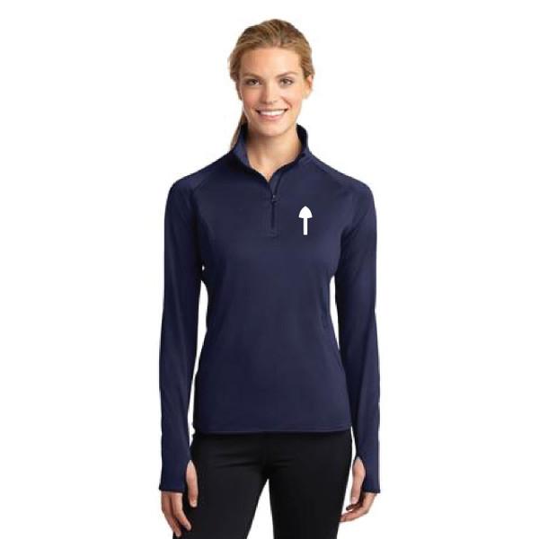 El Toro Class Women's Sport-Wick® Stretch 1/2-Zip Pullover (Customizable)
