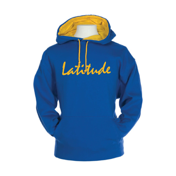Latitude 38 Pullover Hooded Varsity Sweatshirt