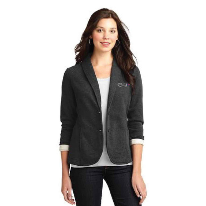 GGYC Defender 35th America's Cup Women's Fleece Blazer