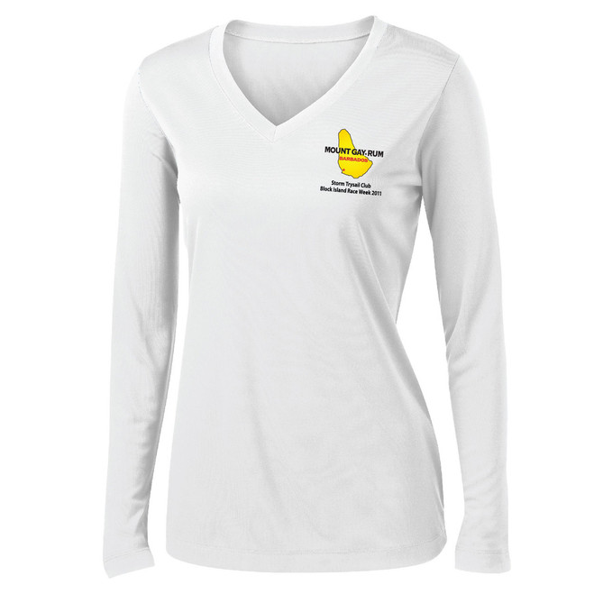 Block Island Race Week 2011 Women's Wicking Shirt