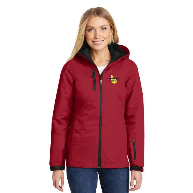 Mount Gay® Rum Women's Vortex Waterproof 3-in-1 Jacket by Port Authority®