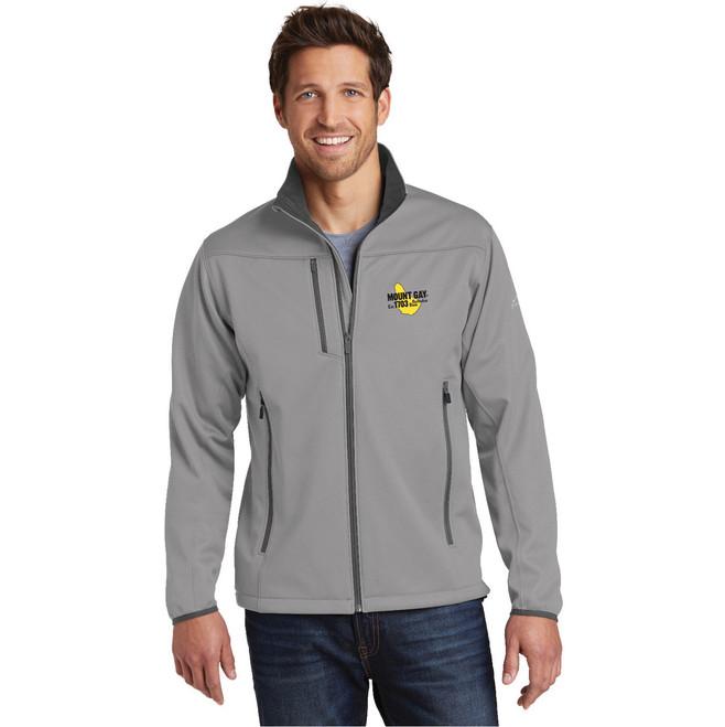 Mount Gay® Rum Men's Weather-Resist Soft Shell Jacket by Eddie Bauer®