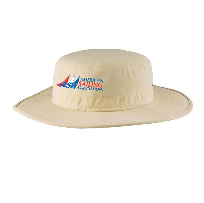 American Sailing Association Wide Brim UPF 30+ Hat