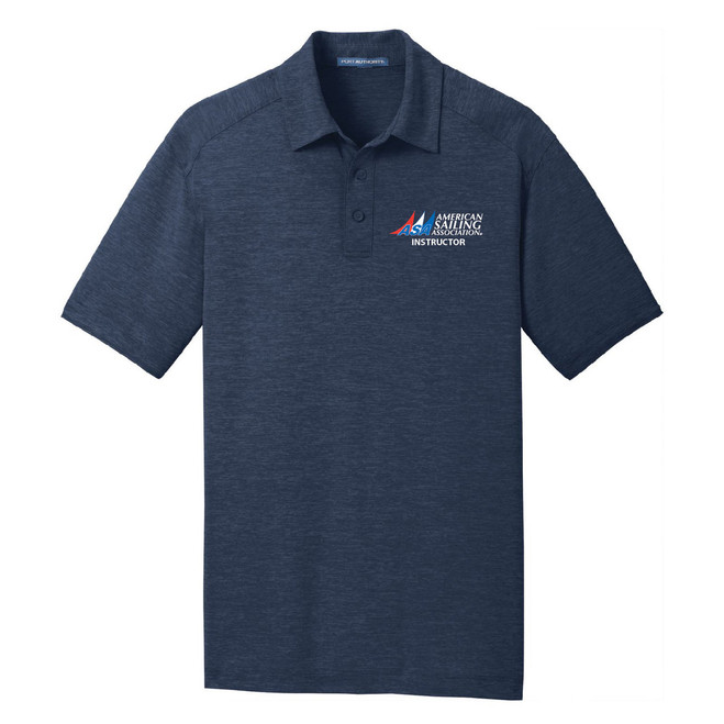 ASA Instructor Men's Wicking Polo Shirt