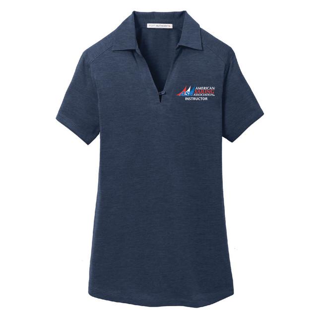ASA Instructor Women's Wicking Polo Shirt
